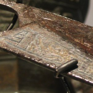German scissors from 1500's in Museum of London.