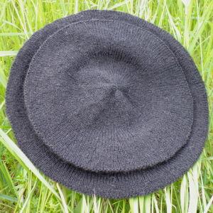 Knit Landsknecht Black Cap