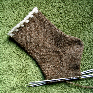 Boring Brown Sock