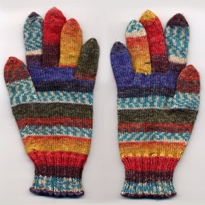 Fortissima Gloves finished