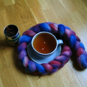 Tina's gift of tea and wool