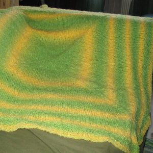 Lemon/Lime Baby Blanket