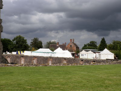 Main camp at Raglan