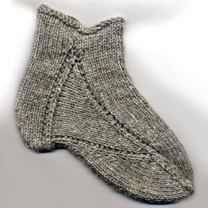16th century stocking foot test