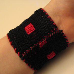 Watch band under wrist