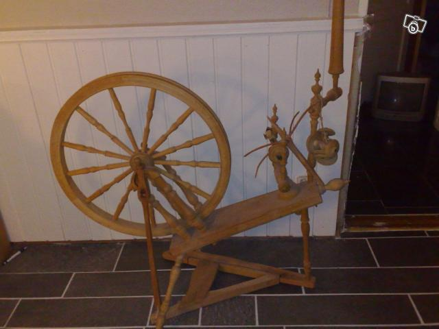 My new spinning wheel